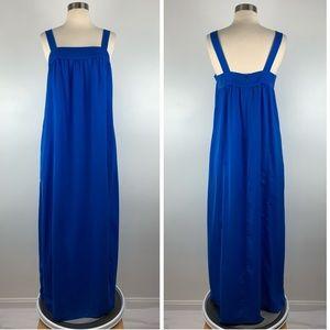 J. Crew Factory Drapey Maxi Dress 6 O3358